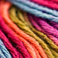 rainbow wool by nandiamond