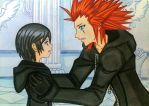 Axel x Xion: let's go home! by dagga19