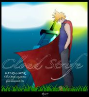 "-Cloud Strife- "" Contest "" by djust"