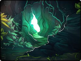 ToR - cave mouth by Copperhaven