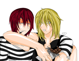 Matt n' Mello- Colored by davistownusa