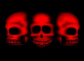 We Three Skulls by IronFist-Productions