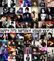 HAPPY BIRTHDAY GERARD! by MusicInMehSoul