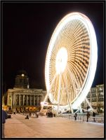 Nottingham ferris wheel III by Wainson