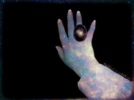 the universe in you hand by IdaBlack