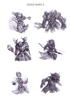 Guild Wars 2 by WEAPONIX