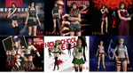 DOA5LR Halloween Pack By SSPD077 (Updated) by faytrobertson