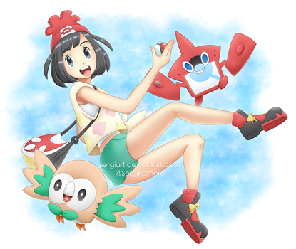 Pokemon Sun and Moon - A new adventure! by SergiART