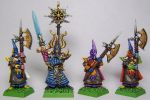 Realm of Chaos: Tzeentch Champion and Dark Elves by FraterSINISTER