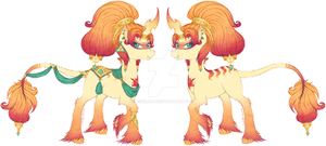 [P] OC - Sun Watcher - Ankaa - UP FOR TRADE-SWAP by tinuleaf