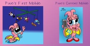 Pixie's Mobiles by JimmyCartoonist