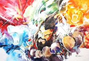 League of Legends - Udyr by Abstractmusiq
