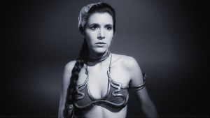 Carrie Fisher Slave Girl Princess XII by Dave-Daring