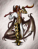 DnD - Asmodeus by EjLowell