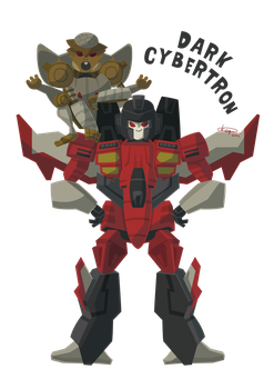 Starscream and Rattrap by ogakyou