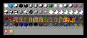 Sketch material Pack by AKLP