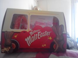 The Maltesers Easter Bunny Bus by HTFBlueFan2012
