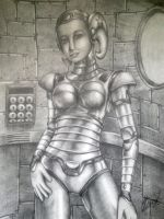 Robot Girl by DreamPlanet