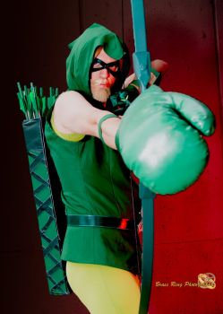 Boxing Glove Arrow by BlitzkriegCosplay