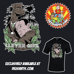 Clever Girl - Jurassic Park Tee Design by dexshirts
