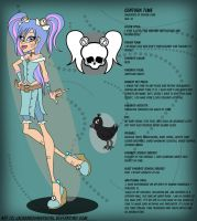 Monster High OC: Centura Time by pixiesera