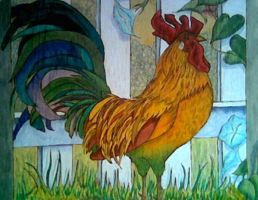 Rooster by Robert-Clell-Asher