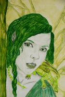 Woodland Fairy in Close by Tricia-Danby