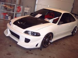 """Honda Civic """"HPT"""" by Obsessed-Cars"""