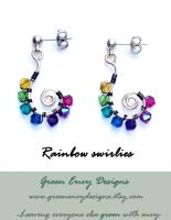 rainbow swirlies by green-envy-designs