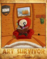 art survivol - another poster by drazebot