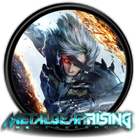 Metal Gear Rising: Revengeance - Icon by Blagoicons