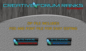 Creative Forum Ranks 2.0 by bry5012
