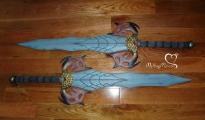 TERA Castanic Swords by the-mirror-melts