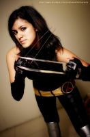 X-23 Laura Kinney Cosplay 2 by flamable77