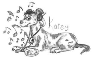 Korey as a dog :D by singing-hallelujah