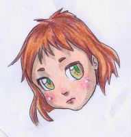 Chibi face by julyie