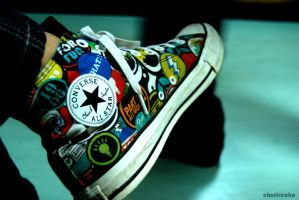 I love my COnverse by ChoiFreako