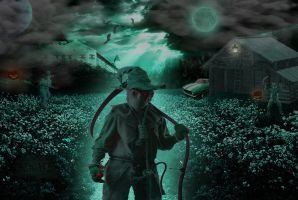 Night of the Scarecrows by WyckedAngel