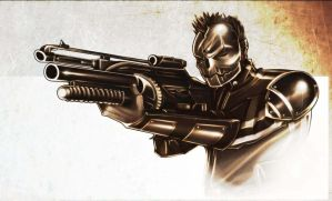 Army of Two - Angry Joe armor by MaroBot