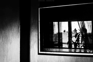 Window in a frame by everypathtonowhere