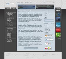 moblog - personal blog site by moDesignz