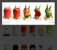 buga paper toy by goex