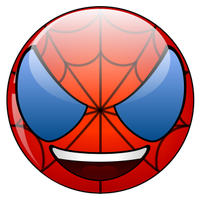 Spidermann smiley by mondspeer