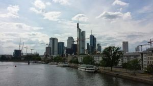 Typicall view of Frankfurt by Arminius1871