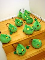 Maplestory Plush Slime 4 by TheCurseofRainbow