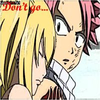 FT Lucy and Natsu by Miragehedgehog