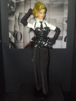 Madonna Vogue MDNA tour OOAK by ladymadge
