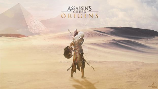 Assassin's Creed Origins Wallpaper by Amia2172