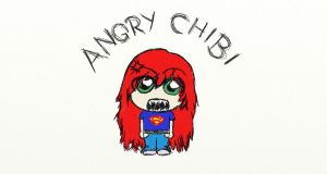 Angry Chibi x by CusImCoolLikeThat