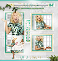 Emily Osment Photopack PNG by bubblegumhq